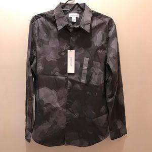 Calvin Klein Camouflage Button Down Shirt